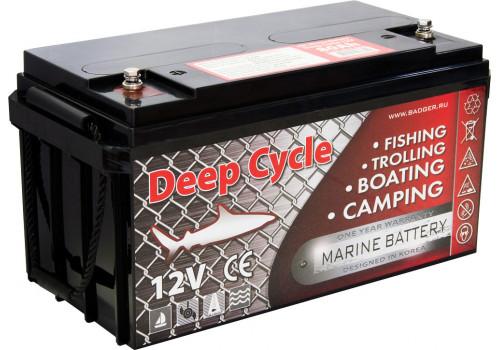 Аккумулятор для электромотора Marine Deep Cycle GEL 80Ah 12V