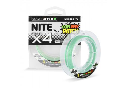 Леска плетеная Yoshi Onyx NITE 4 Green