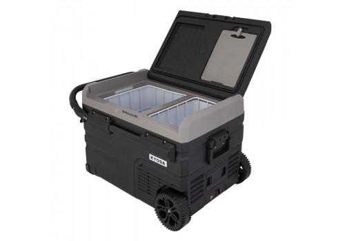 Автохолодильник Kyoda TW35WH-E, двухкамерный
