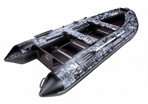 Моторная лодка ПВХ Адмирал AM-375 SL