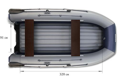 Моторная лодка ФЛАГМАН DK 380
