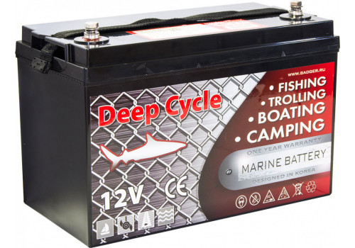 Аккумулятор для электромотора Marine Deep Cycle AGM 100Ah 12V
