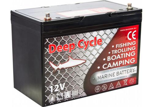 Аккумулятор для электромотора Marine Deep Cycle AGM 90Ah 12V