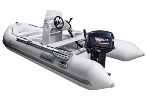 Надувная лодка РИБ Адмирал RIB 410 Консоль