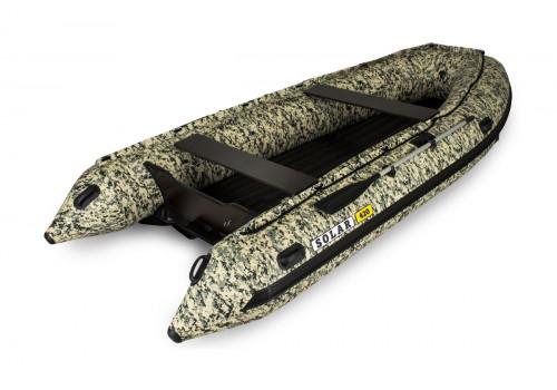 Надувная лодка ПВХ Solar 420 Jet Tunnel