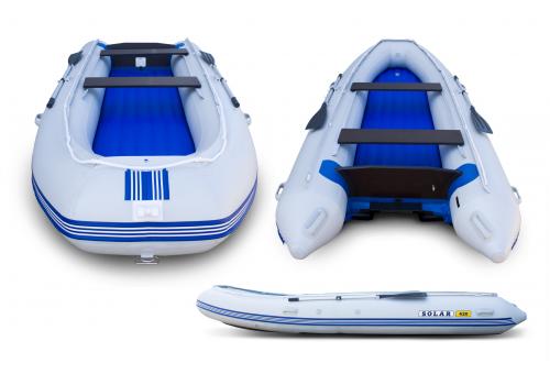 Надувная лодка ПВХ Solar 420 ВЕГА Jet Tunnel