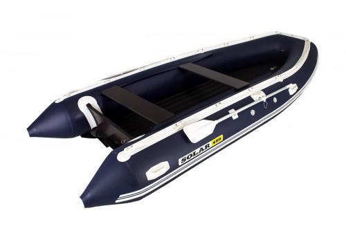 Надувная лодка ПВХ Solar 450 Jet Tunnel