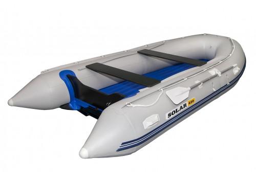 Надувная лодка ПВХ Solar 420 Стрела Jet Tunnel
