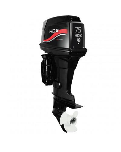 Лодочный мотор 2-х тактный HDX T 75 FEL-T