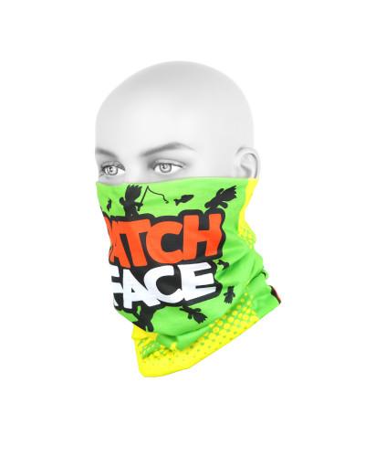 Бандана-труба Yoshi Onyx #4 Patch Face Green