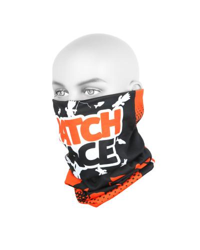 Бандана-труба Yoshi Onyx #5 Patch Face Orange