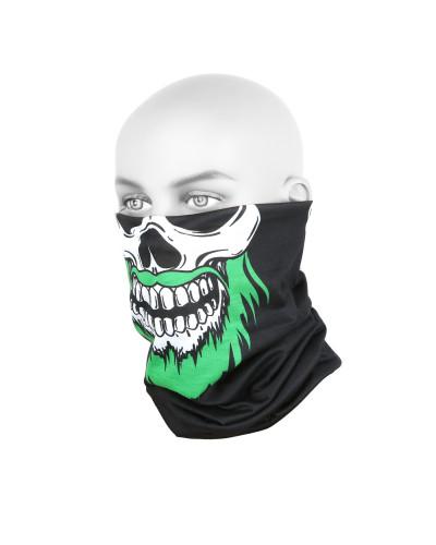 Бандана-труба Yoshi Onyx #1 Black Skull