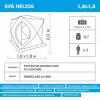 Палатка  зимняя Куб Helios - 180OLG