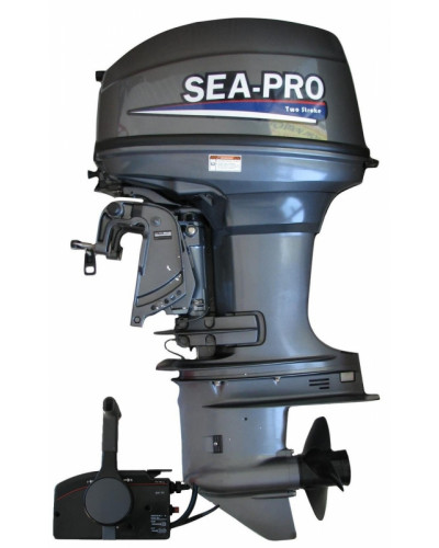2-х тактный лодочный мотор Sea Pro T 40S&E Jet с водометной насадкой