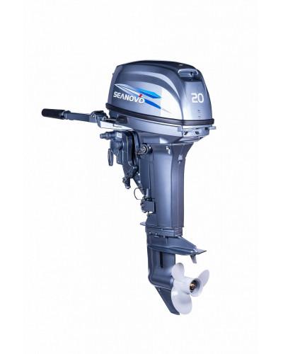 2-х тактный лодочный мотор Seanovo SN20FHS