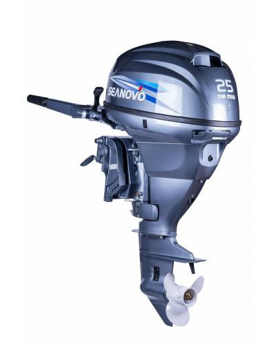4-х тактный лодочный мотор Seanovo SNF25HS