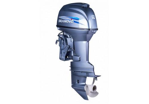 Лодочный мотор Seanovo SN60FFEL-T(электроподъем)