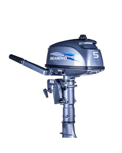 2-х тактный лодочный мотор Seanovo SN5FHS