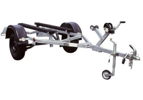 Прицеп для перевозки гидроциклов и небольших лодок