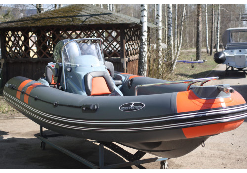 Лодка Rib Буревестник Б-450