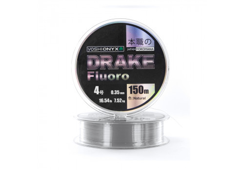 Леска Yoshi Onyx Drake Fluoro Natural 150м 0.26