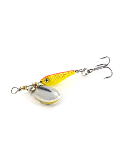 Блесна Hacker Spinner Minnow Round, 3 гр. / 007