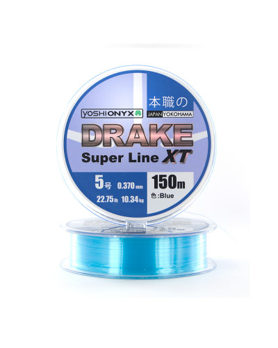 Леска Yoshi Onyx Drake Superline XT 150M 0.370mm Blue