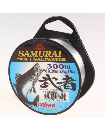 Монолеска DAIWA Samurai SA SW- 300M 16lb 0,33 мм