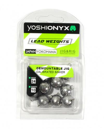 Груз Yoshi Onyx Demountable Calibrated Sinker чебурашка спорт разборная, 18гр., 10шт.