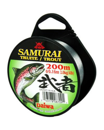 Монолеска Daiwa Samurai Trout  0,16 - 200 M