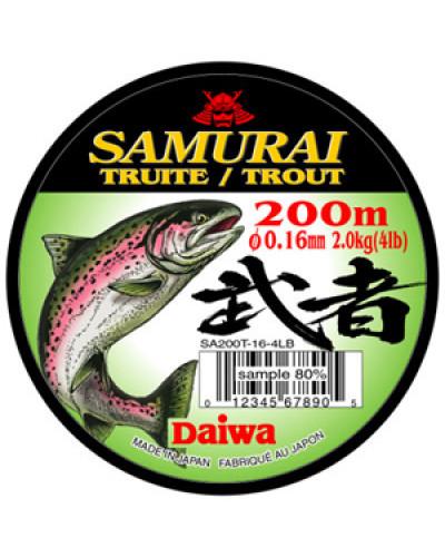 Монолеска Daiwa Samurai Trout  0,18 - 200 M