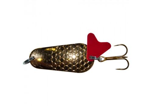 Блесна  Trout Pro Pike колеблющаяся 22гр. ( цвет золото )  ( PK-2-G )