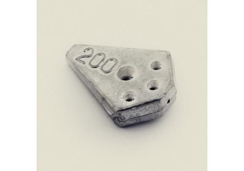 Груз Ромб Trout Pro скользящий 150 г.1-002 (5шт./уп.)