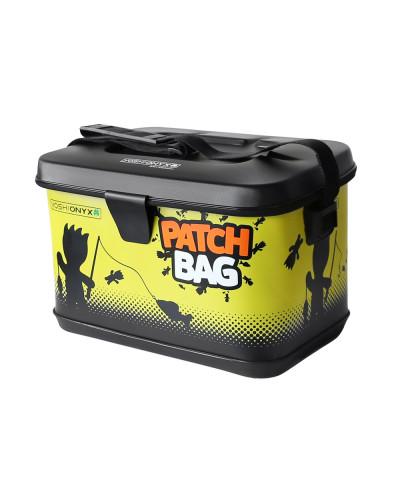 Сумка для снастей Yoshi Onyx Patch Bag, черно-желтая