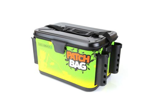 Сумка для снастей Yoshi Onyx Patch Bag с держателями для спиннингов, желто-зеленая