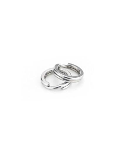 Заводное кольцо Yoshi Onyx Split Ring HD 0.8x6mm, 23kg, (упаковка 10 штук)