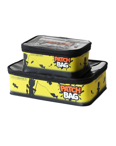 Набор коробок для снастей Yoshi Onyx Patch Bag, черно-желтая