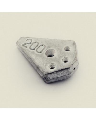 Груз Ромб Trout Pro скользящий  80 г. 1-005 (5шт./уп.)