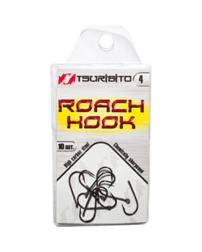 Крючки рыболовные Tsuribito Roach Hook №4 (в упак. 10шт.) (BN)