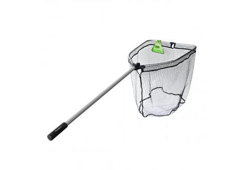 Подсачек TSURIBITO NET TRAP Fold c силиконовой сеткой, складной, длина 170см, диаметр 70 х 60 см