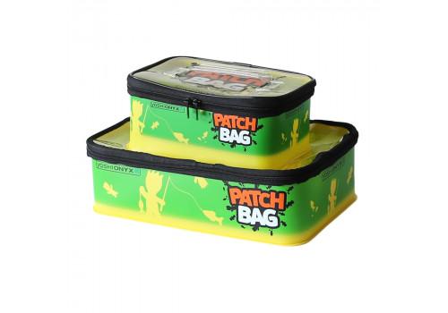 Набор коробок для снастей Yoshi Onyx Patch Bag, желто-зеленая