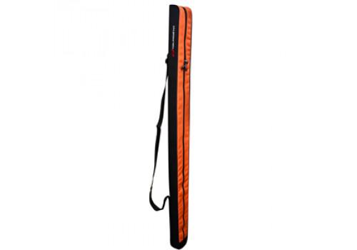 Чехол для удилищ Tsuribito Rod Case 155 см, Black + Orange