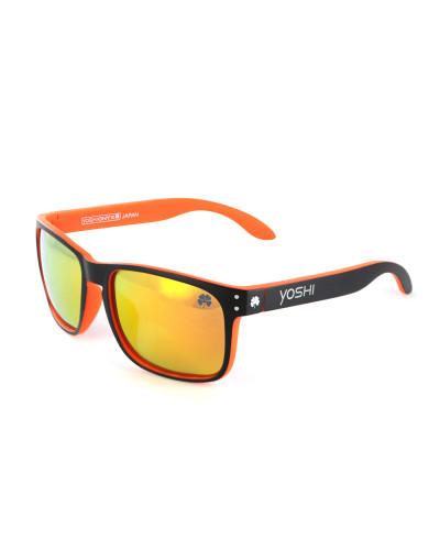 Очки поляризационные Yoshi Onyx оранжевая оправа, оранжевые линзы
