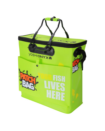 Сумка рыболовная Yoshi Onyx Yoshi Onyx Patch Bag 50*23*50cm, складная, с карманом, зеленая