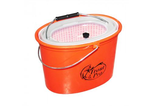 Кан Trout Pro рыболовный 5 л оранжевый