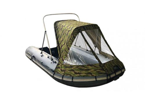 Тент полурубка для лодок ПВХ