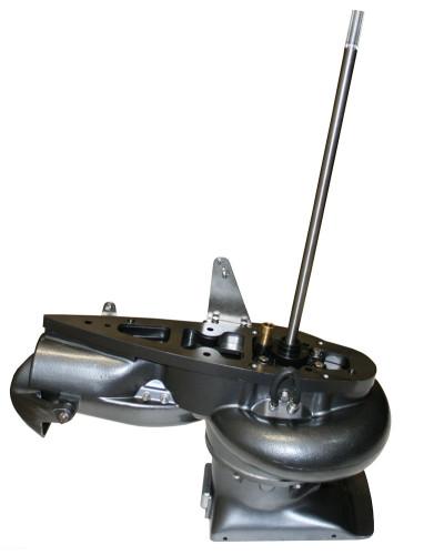 Водомётная насадка на мотор 30 л.с.